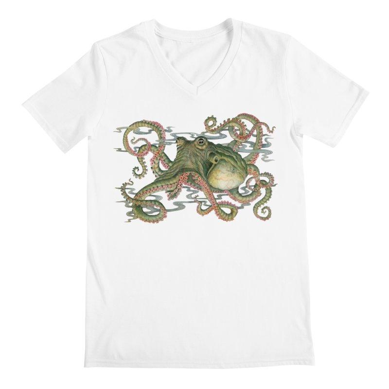 Octopod: Specimen H Men's V-Neck by Jason Brammer's Shop