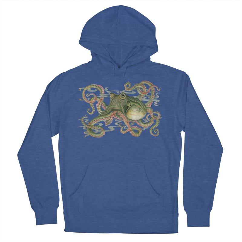 Octopod: Specimen H Men's French Terry Pullover Hoody by Jason Brammer's Shop