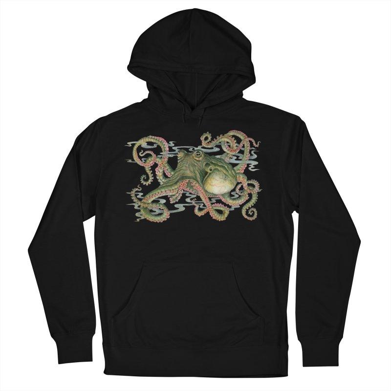 Octopod: Specimen H in Men's Pullover Hoody Black by Jason Brammer's Shop