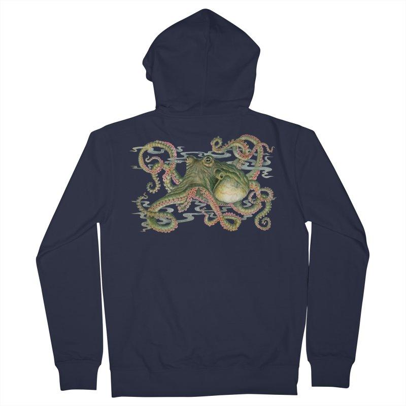 Octopod: Specimen H Women's French Terry Zip-Up Hoody by Jason Brammer's Shop