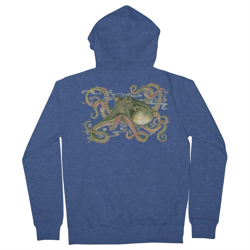 Octopod: Specimen H Men's French Terry Zip-Up Hoody by Jason Brammer's Shop
