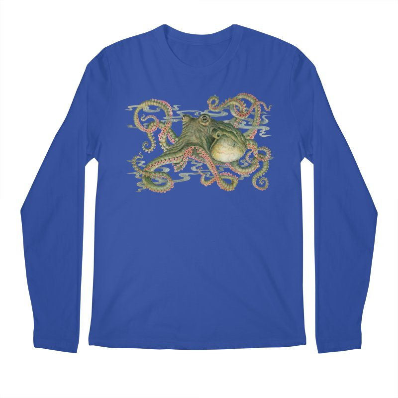 Octopod: Specimen H Men's Regular Longsleeve T-Shirt by Jason Brammer's Shop