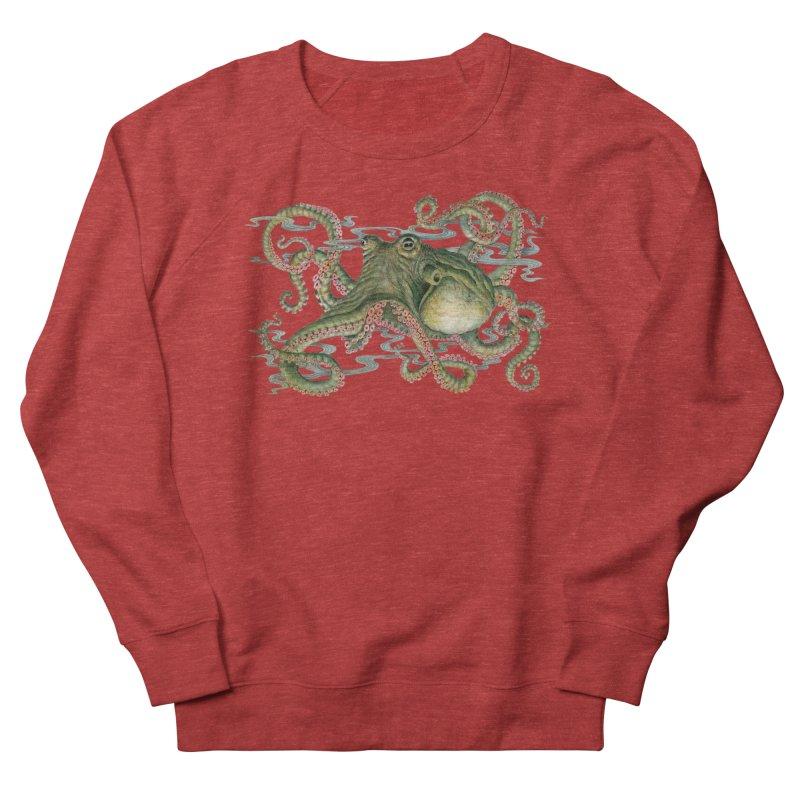 Octopod: Specimen H Men's French Terry Sweatshirt by Jason Brammer's Shop