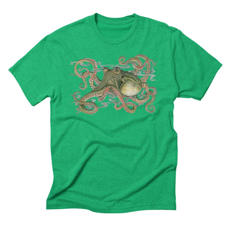 Octopod: Specimen H Men's Triblend T-Shirt by Jason Brammer's Shop