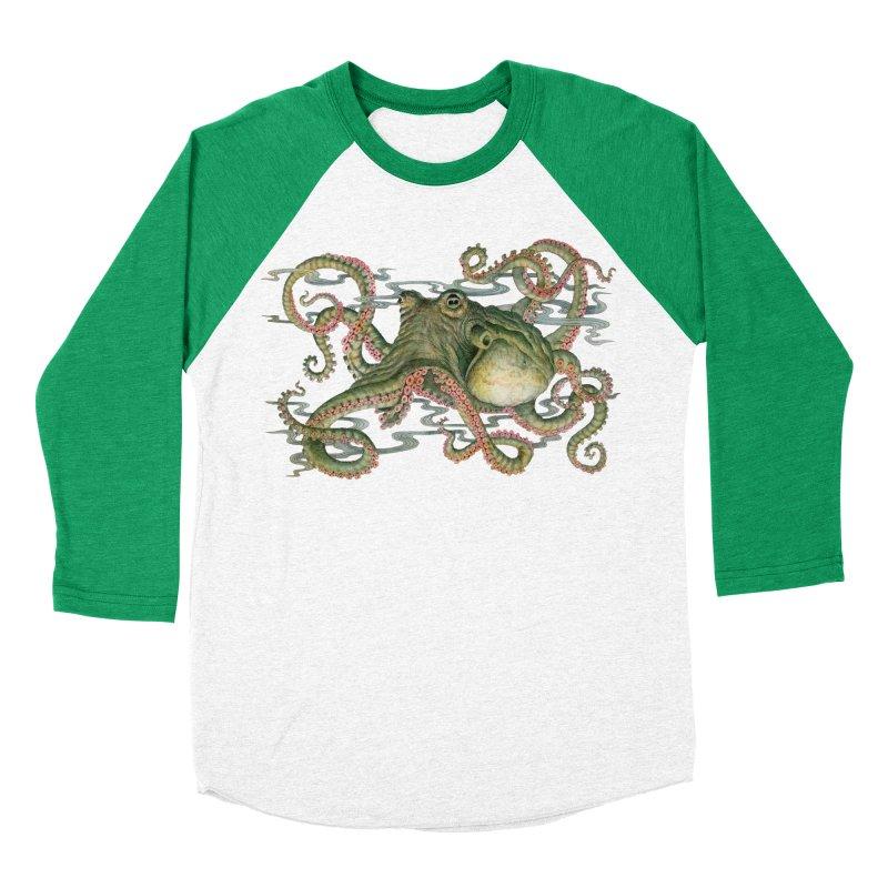 Octopod: Specimen H Women's Baseball Triblend Longsleeve T-Shirt by Jason Brammer's Shop