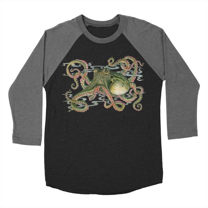 Octopod: Specimen H Men's Baseball Triblend Longsleeve T-Shirt by Jason Brammer's Shop