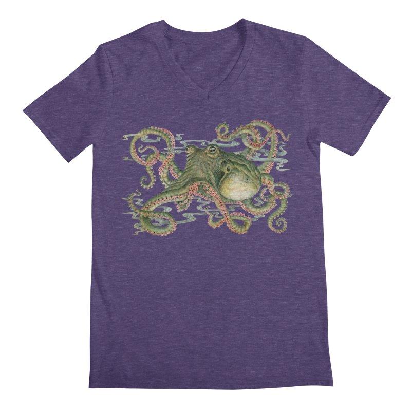 Octopod: Specimen H Men's Regular V-Neck by Jason Brammer's Shop
