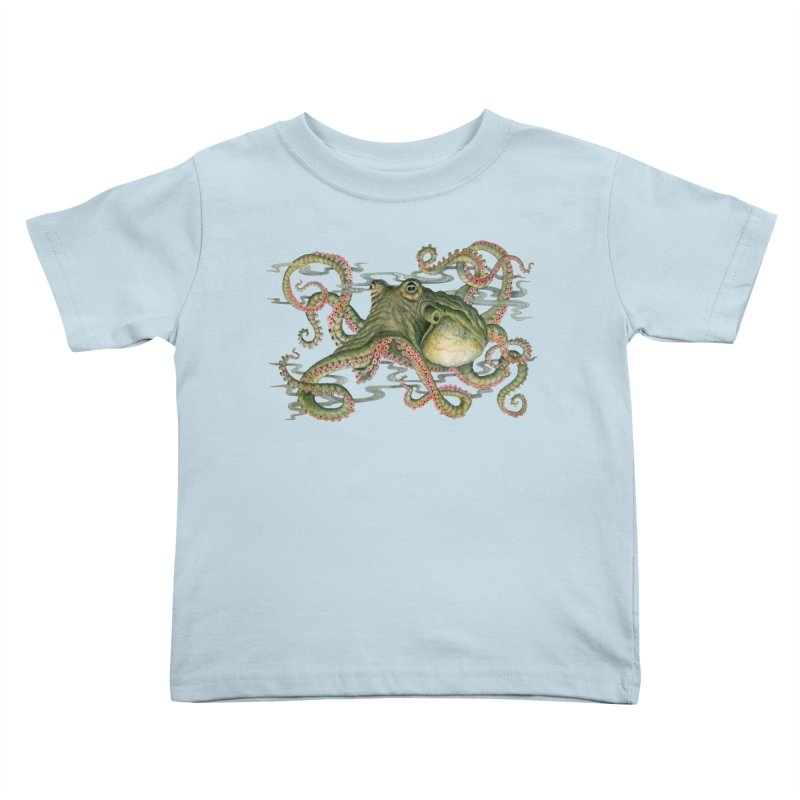 Octopod: Specimen H Kids Toddler T-Shirt by Jason Brammer's Shop