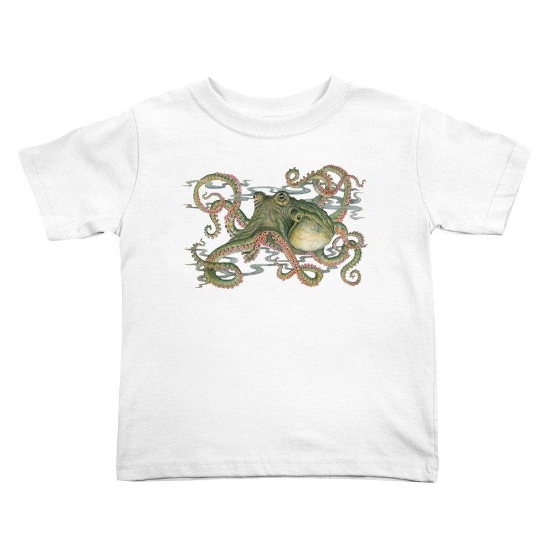 Octopod: Specimen H Kids Toddler T-Shirt by Jason Brammer's Shop