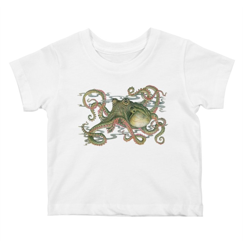 Octopod: Specimen H Kids Baby T-Shirt by Jason Brammer's Shop