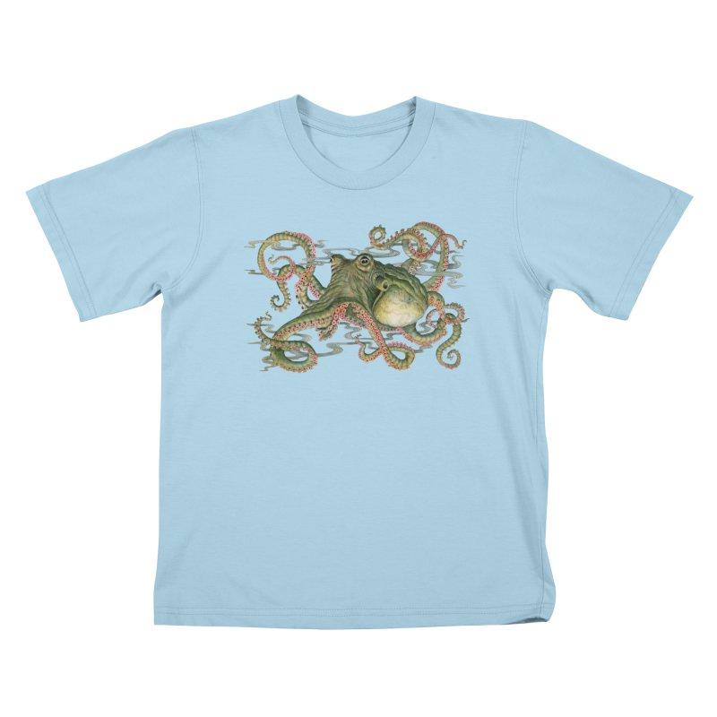 Octopod: Specimen H Kids T-Shirt by Jason Brammer's Shop