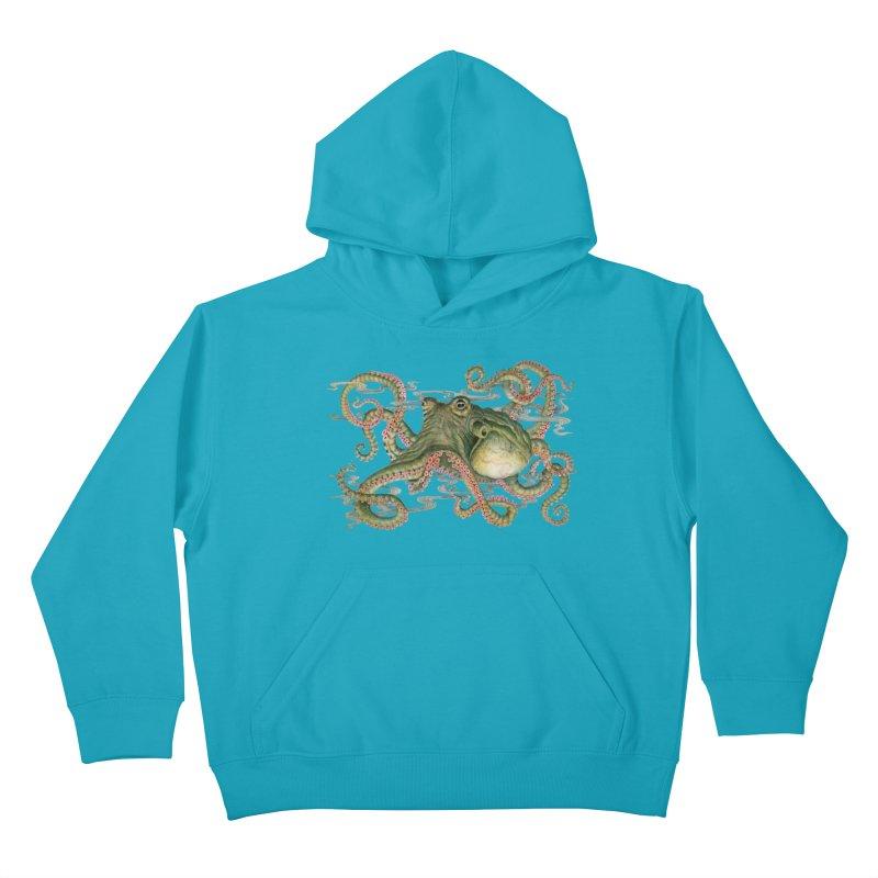 Octopod: Specimen H Kids Pullover Hoody by Jason Brammer's Shop
