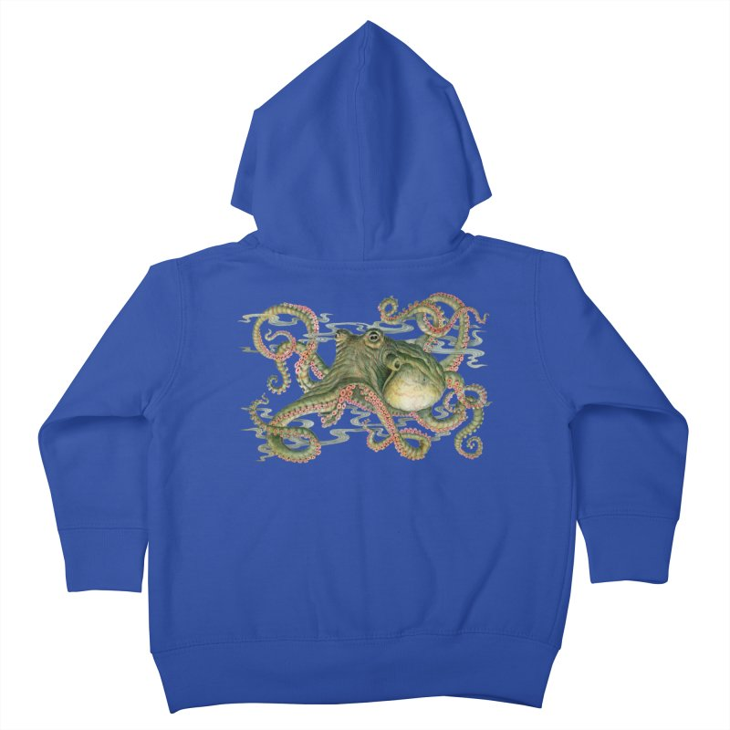 Octopod: Specimen H Kids Toddler Zip-Up Hoody by Jason Brammer's Shop