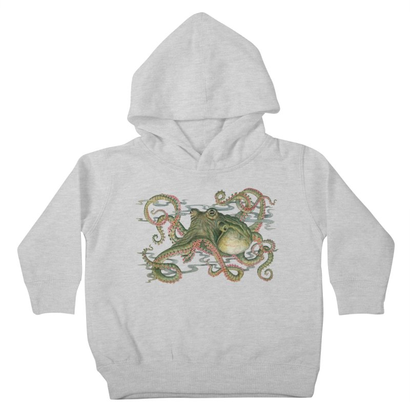Octopod: Specimen H Kids Toddler Pullover Hoody by Jason Brammer's Shop