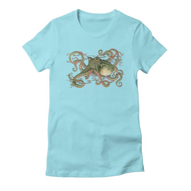 Octopod: Specimen H Women's Fitted T-Shirt by Jason Brammer's Shop