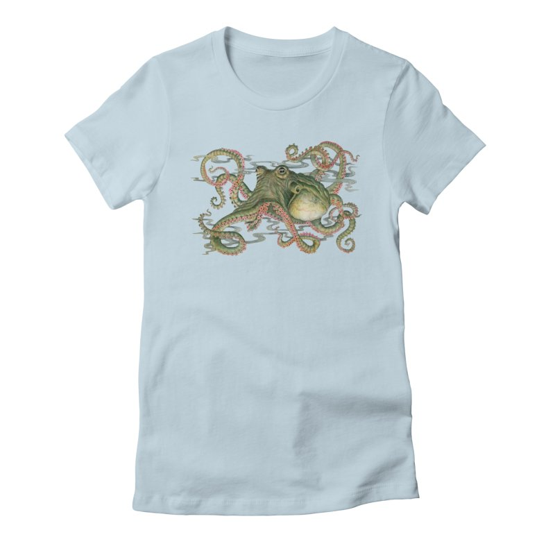 Octopod: Specimen H Women's Fitted T-Shirt by Jason Brammer's Shop