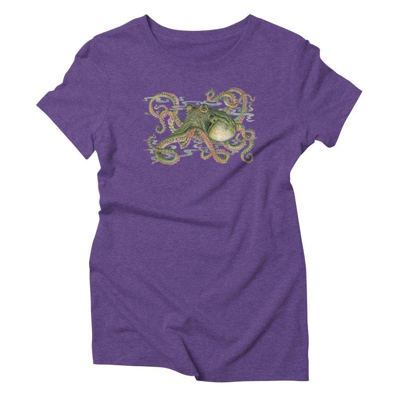 Octopod: Specimen H Women's Triblend T-Shirt by Jason Brammer's Shop