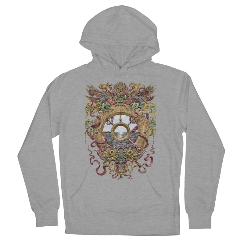 Writhing Waters XVI (Mara's Wheel) Women's French Terry Pullover Hoody by Jason Brammer's Shop