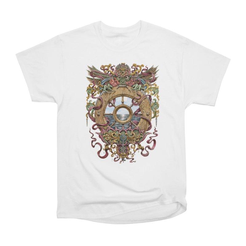 Writhing Waters XVI (Mara's Wheel) Men's Heavyweight T-Shirt by Jason Brammer's Shop