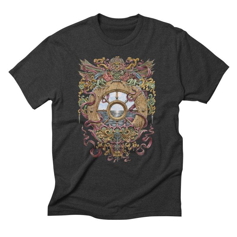 Writhing Waters XVI (Mara's Wheel) Men's Triblend T-Shirt by Jason Brammer's Shop