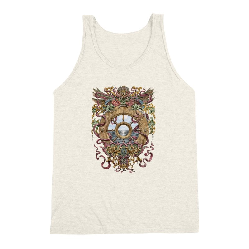 Writhing Waters XVI (Mara's Wheel) Men's Triblend Tank by Jason Brammer's Shop