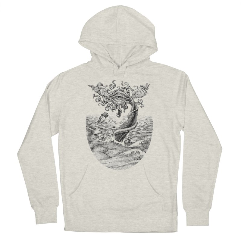 Birth of the Sonic Swan Deity Women's French Terry Pullover Hoody by Jason Brammer's Shop