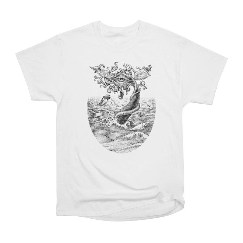 Birth of the Sonic Swan Deity Men's Heavyweight T-Shirt by Jason Brammer's Shop