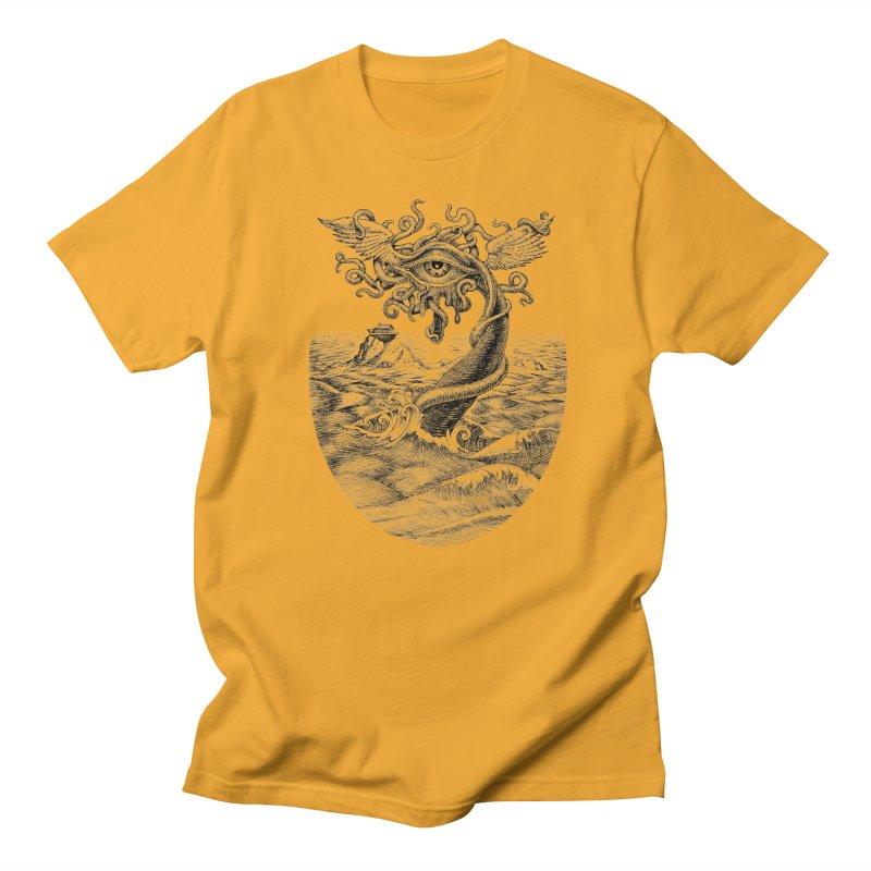 Birth of the Sonic Swan Deity Women's Regular Unisex T-Shirt by Jason Brammer's Shop