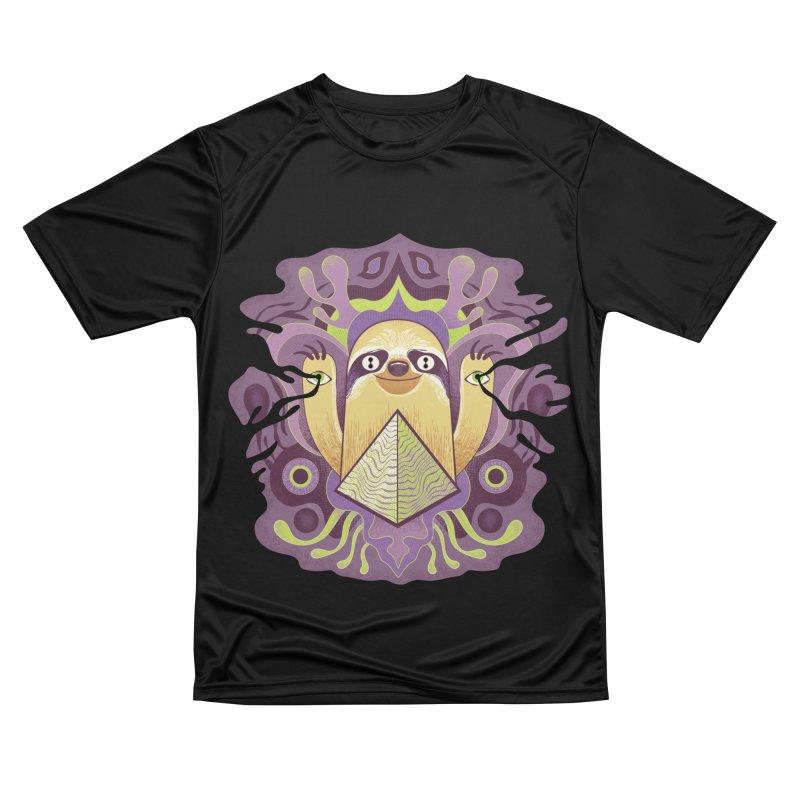 Interdimensional sloth Men's Performance T-Shirt by Jason Castillo Illustration