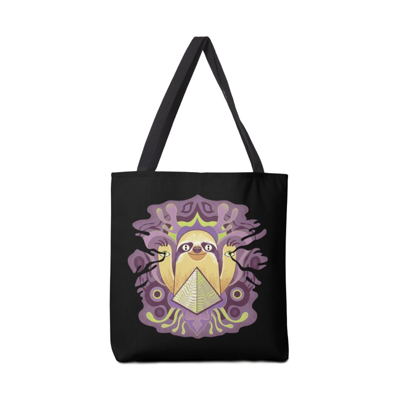 Interdimensional sloth Accessories Tote Bag Bag by Jason Castillo Illustration