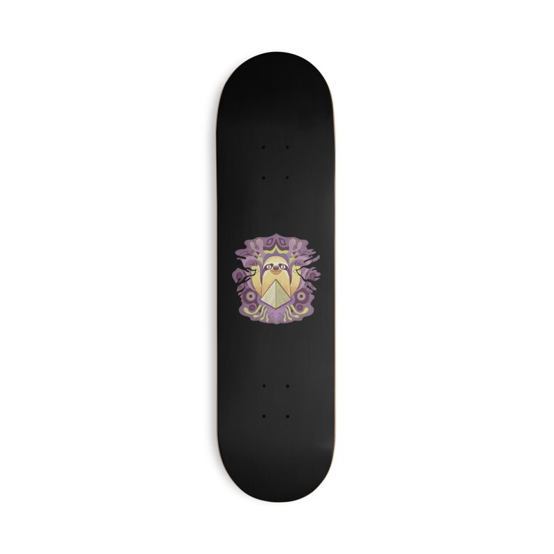 Interdimensional sloth Accessories Deck Only Skateboard by Jason Castillo Illustration