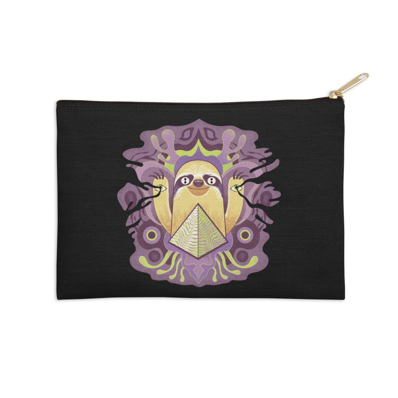 Interdimensional sloth Accessories Zip Pouch by Jason Castillo Illustration
