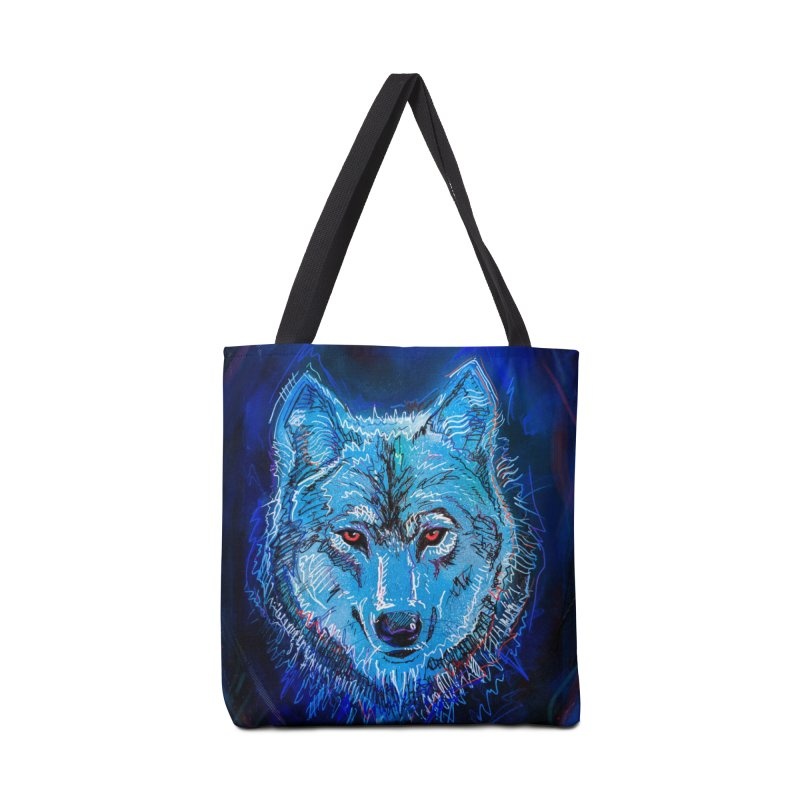 The Watcher Accessories Tote Bag Bag by Jason Castillo Illustration