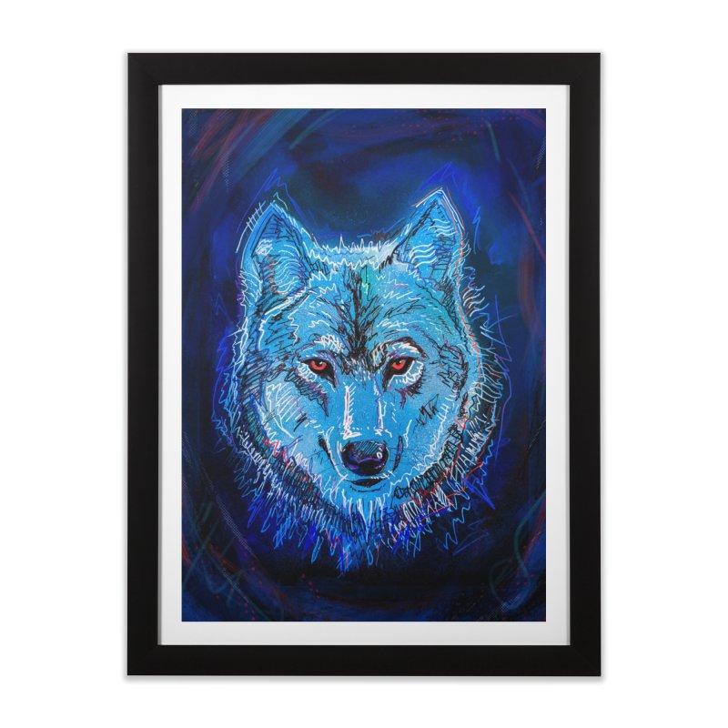 The Watcher Home Framed Fine Art Print by Jason Castillo Illustration
