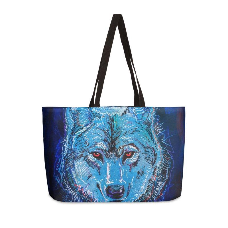 The Watcher Accessories Weekender Bag Bag by Jason Castillo Illustration