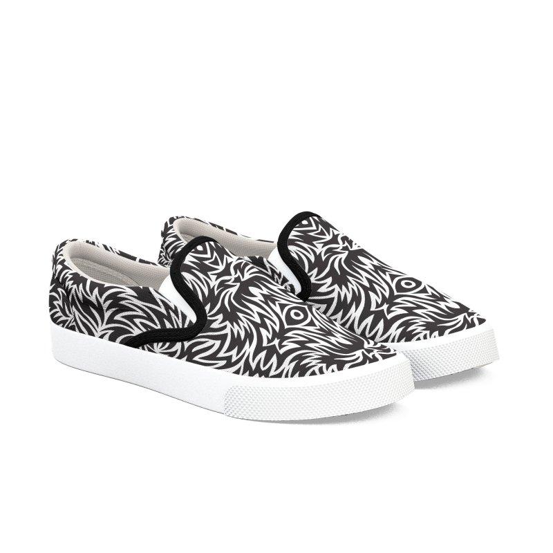 Trippy Pattern One Women's Shoes by Jason Castillo Illustration