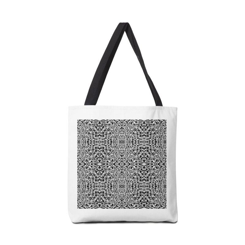Trippy Pattern One Accessories Bag by Jason Castillo Illustration