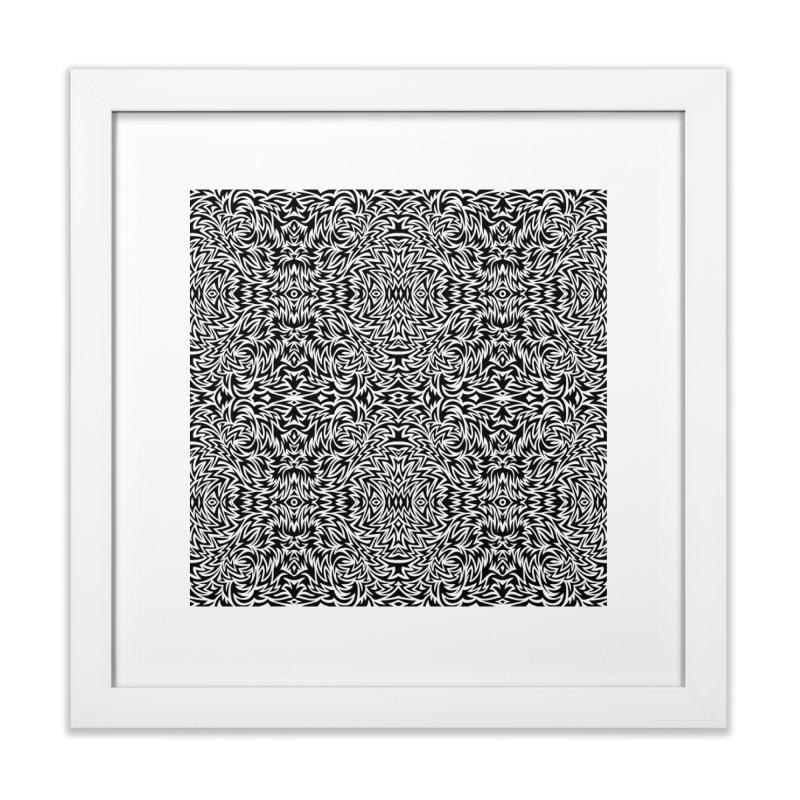 Trippy Pattern One Home Framed Fine Art Print by Jason Castillo Illustration