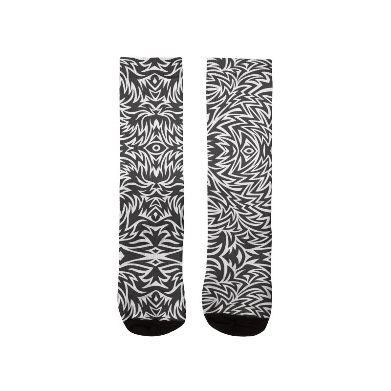 Trippy Pattern One Women's Socks by Jason Castillo Illustration