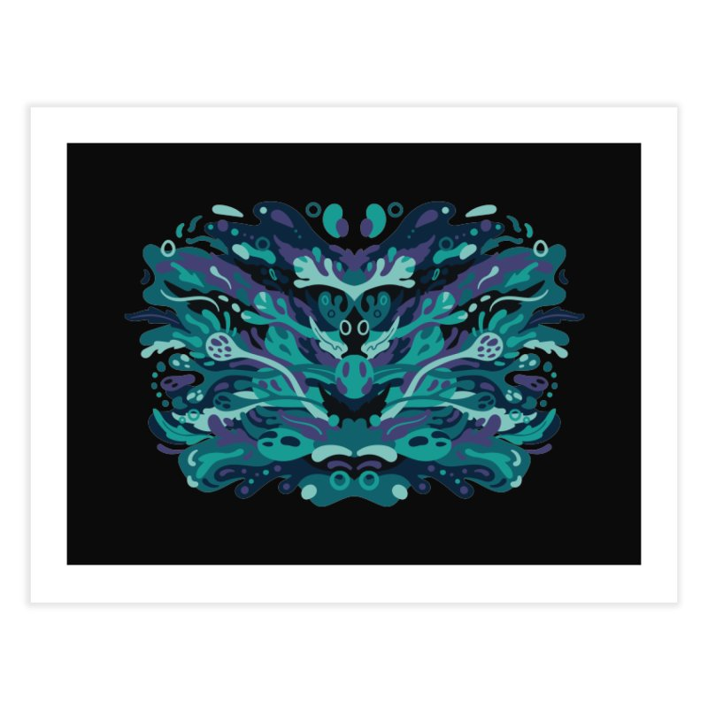Rorschach Test Art Home Fine Art Print by Jason Castillo Illustration