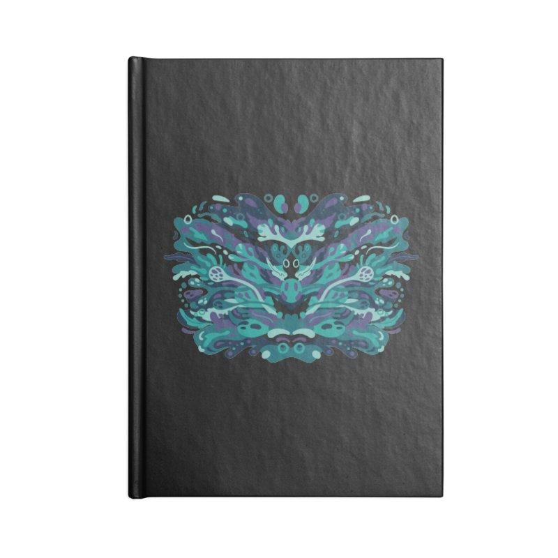 Rorschach Test Art Accessories Notebook by Jason Castillo Illustration