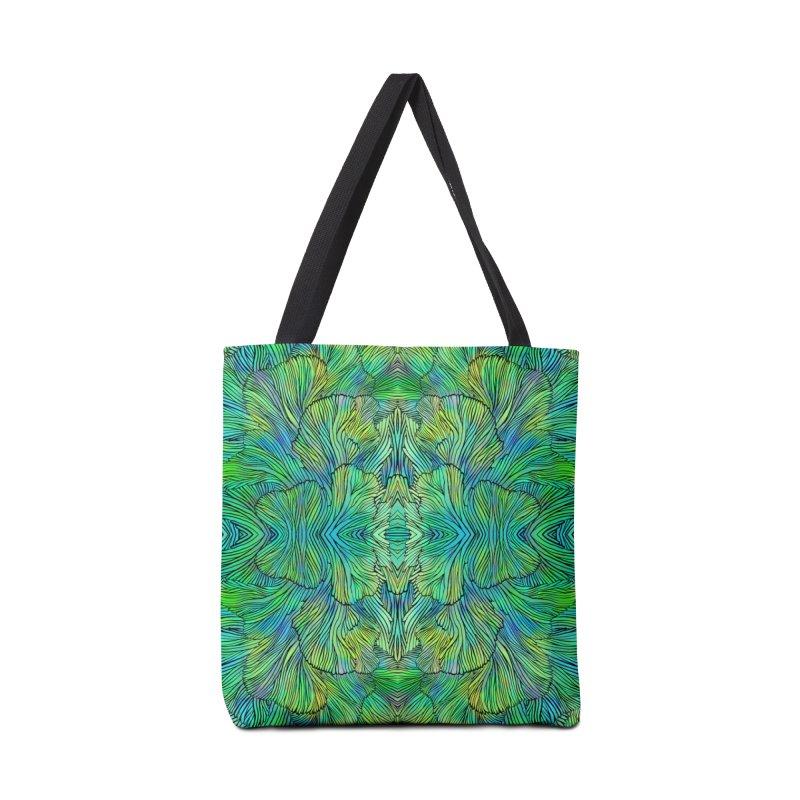 Succulent Dreams Accessories Bag by Jason Castillo Illustration