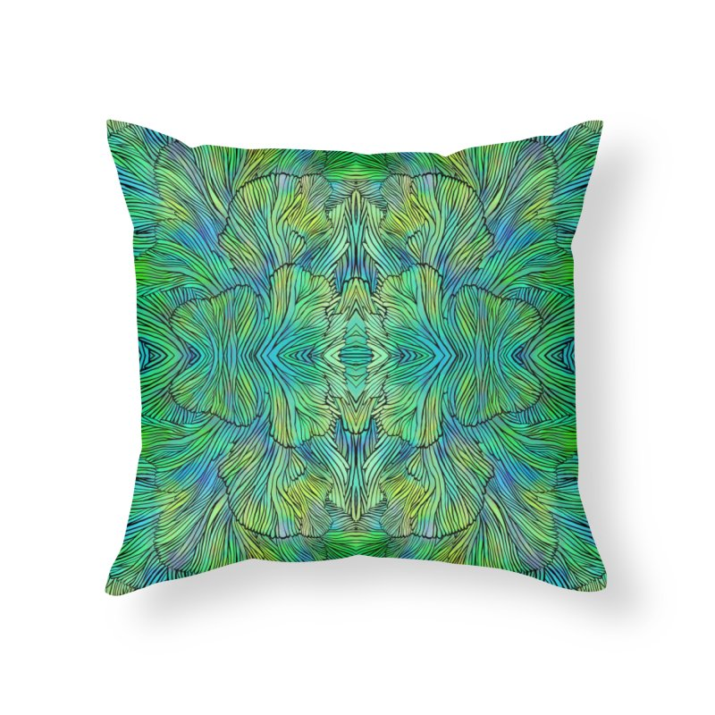 Succulent Dreams Home Throw Pillow by Jason Castillo Illustration
