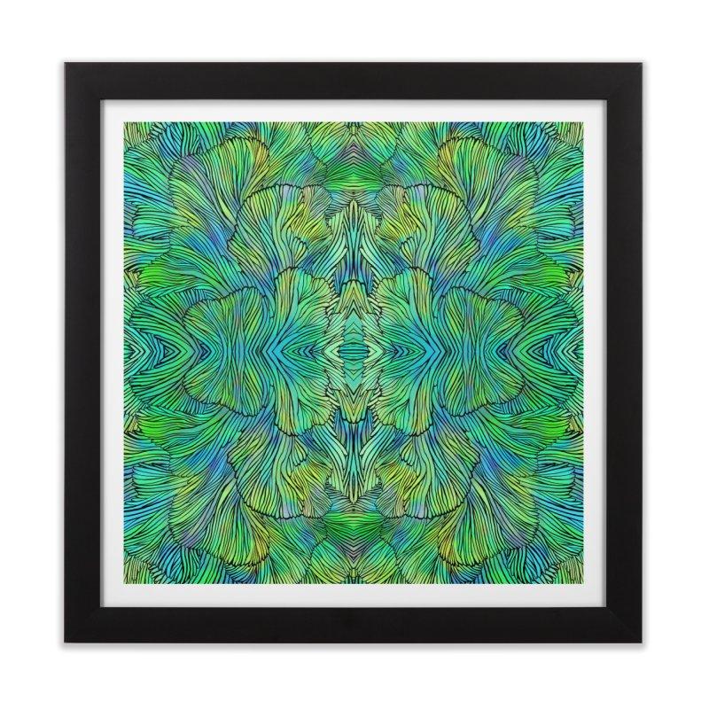 Succulent Dreams Home Framed Fine Art Print by Jason Castillo Illustration