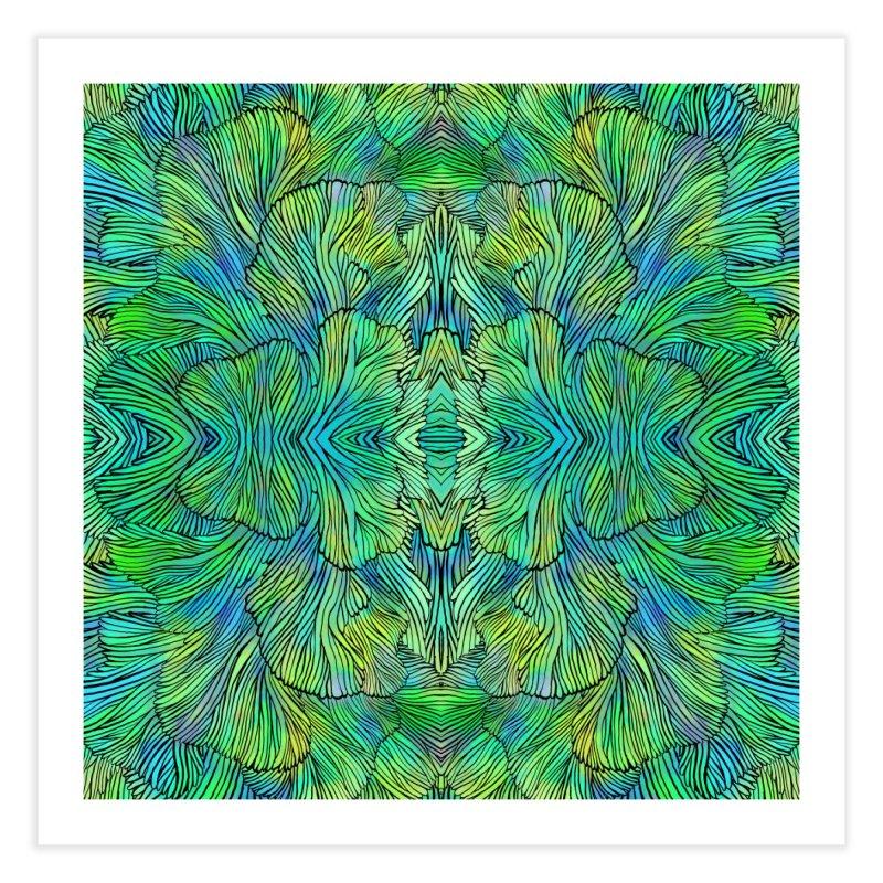 Succulent Dreams Home Fine Art Print by Jason Castillo Illustration