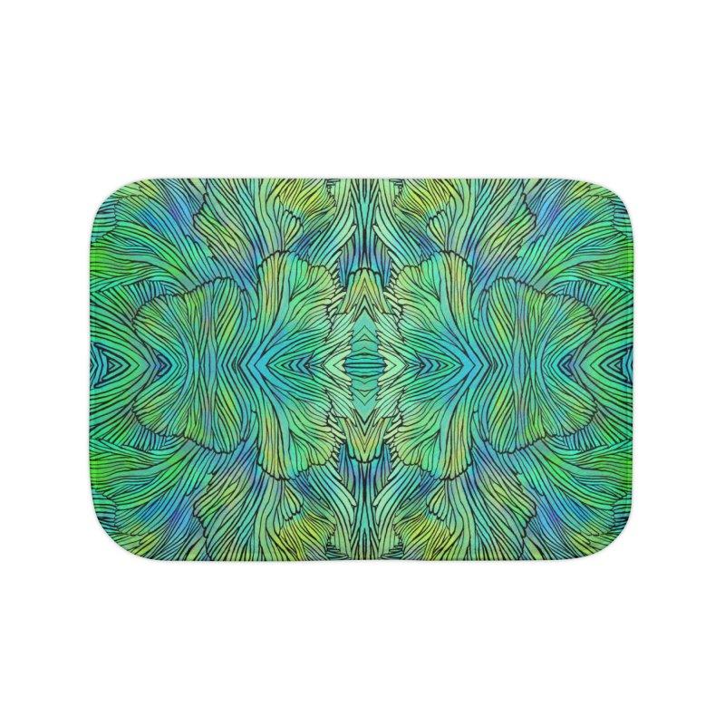 Succulent Dreams Home Bath Mat by Jason Castillo Illustration