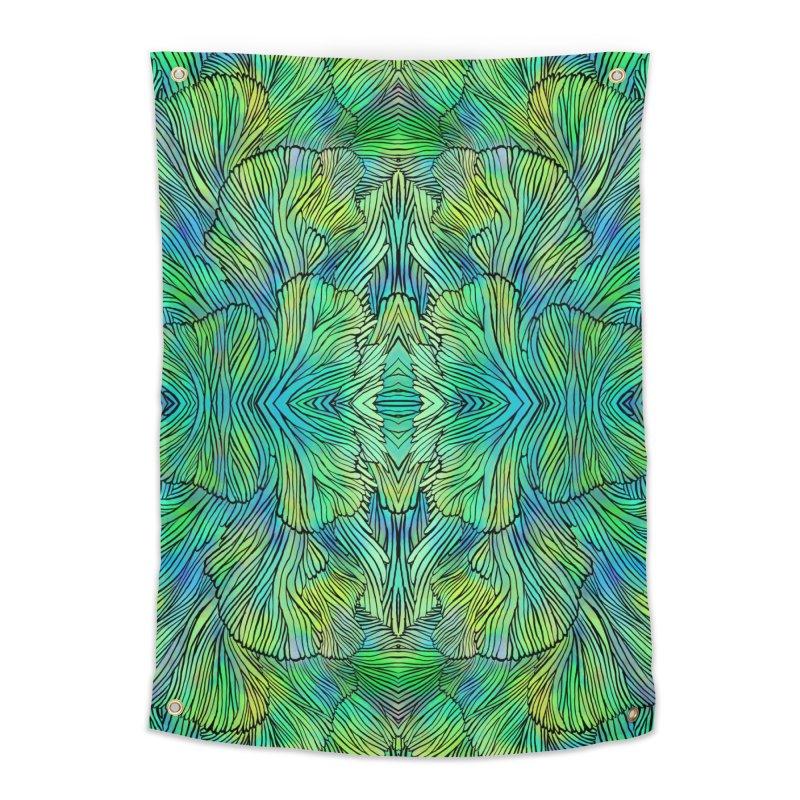 Succulent Dreams Home Tapestry by Jason Castillo Illustration