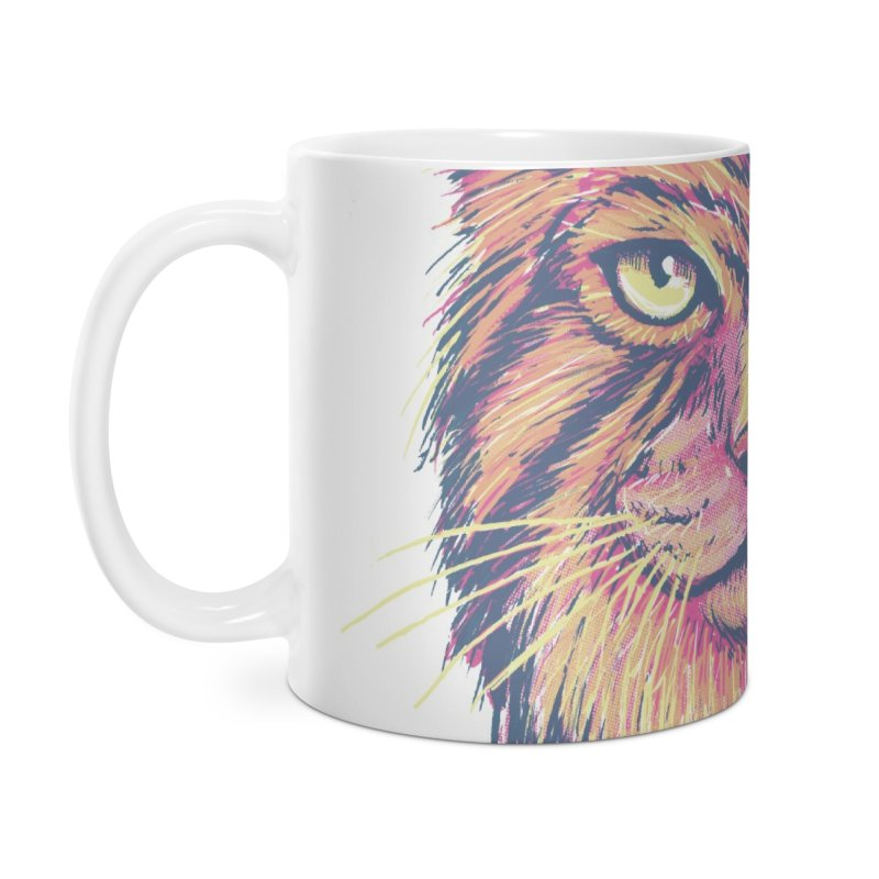 Pallas Cat Accessories Mug by Jason Castillo Illustration