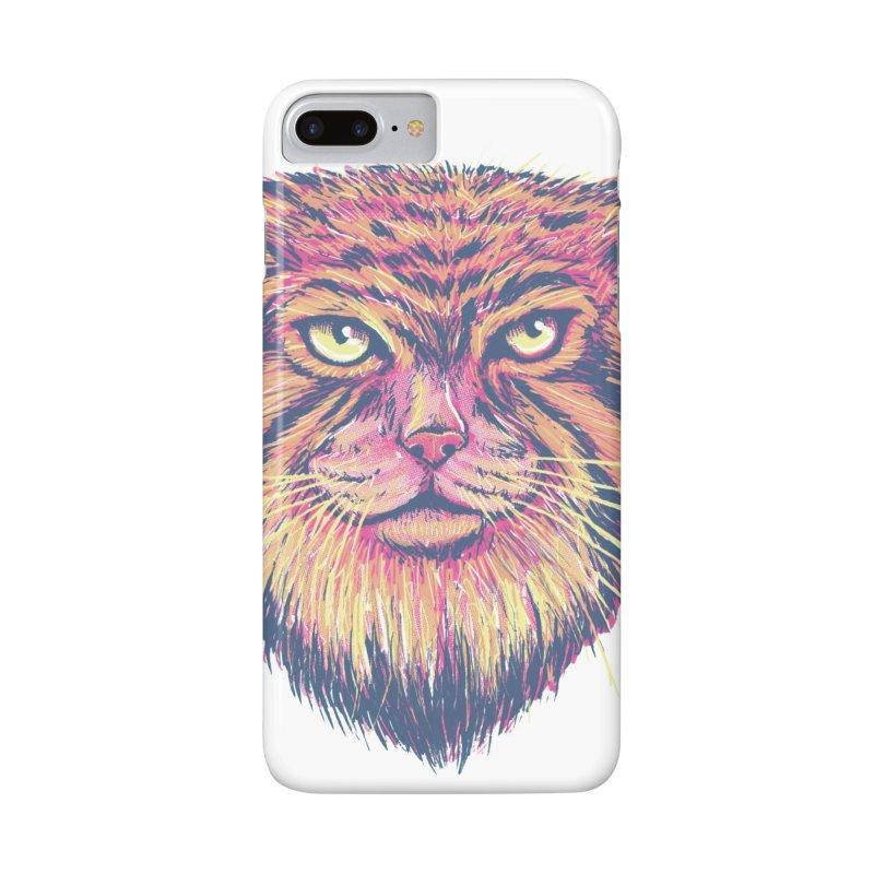 Pallas Cat Accessories Phone Case by Jason Castillo Illustration