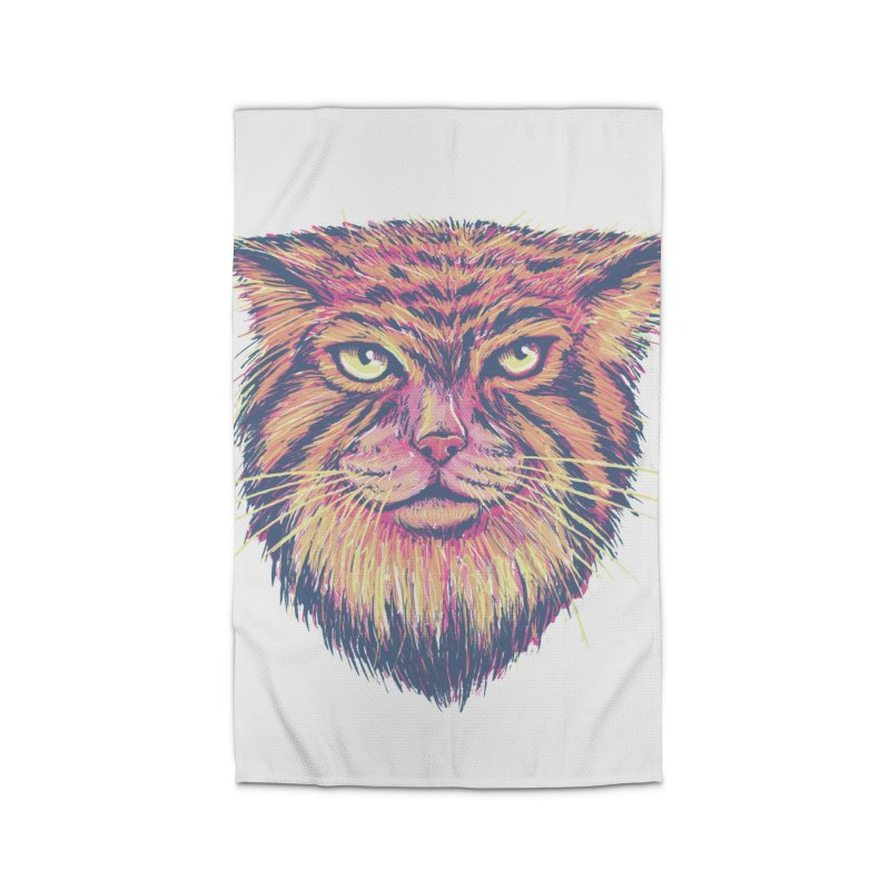 Pallas Cat Home Rug by Jason Castillo Illustration